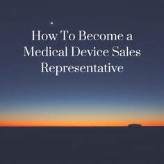 Medical Sales Resume Example: Sample Sales Resumes